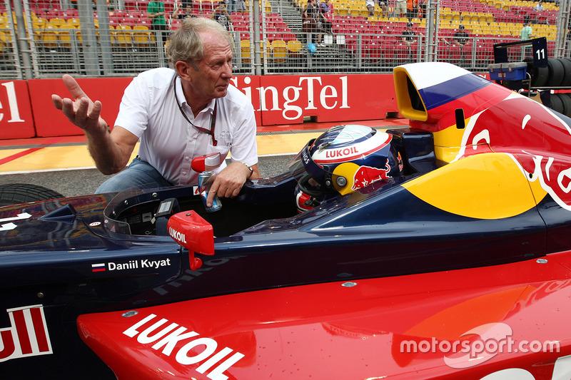 Dr. Helmut Marco, Red Bull Racing és Carlos Sainz Jr.