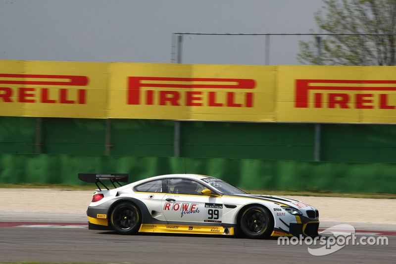 Philipp Eng, Alexander Sims, BMW M6 GT3, Rowe Racing