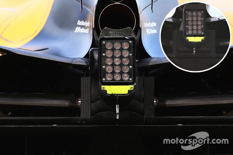 Renault Sport F1 Team RS16: Crashstruktur