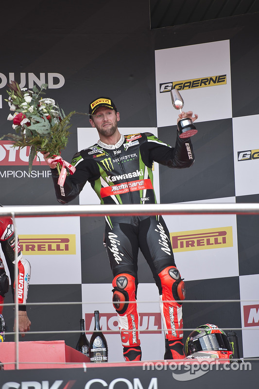 Podium: 3. Tom Sykes, Kawasaki Racing