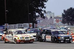 Start zum Rennen, Manuel Reuter, MS-Mercedes; Frank Biela, Ford