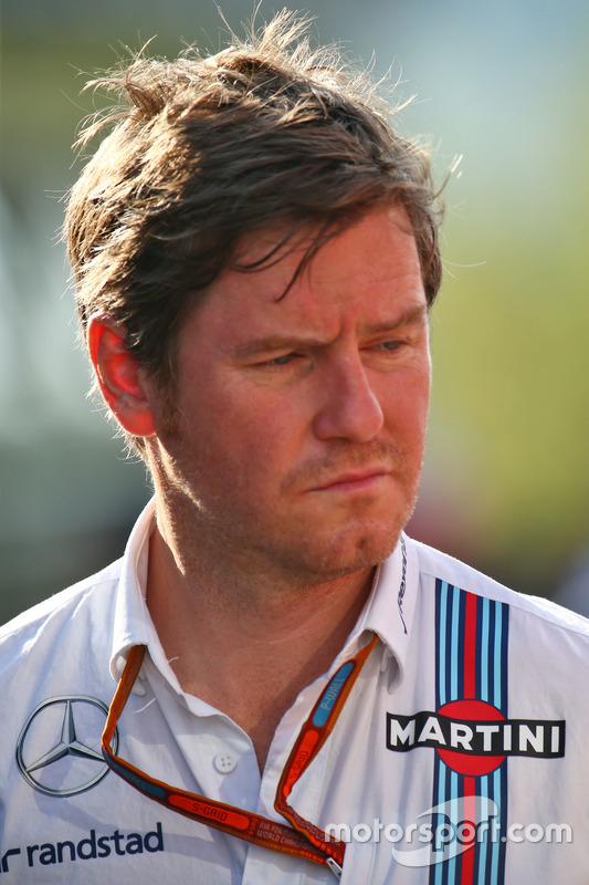 Rob Smedley, Capo delle Performance del veicolo Williams