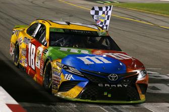 1. Kyle Busch, Joe Gibbs Racing Toyota Camry M&M's