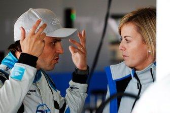 Felipe Massa, Venturi Formula E, Susie Wolff, Team Principal, Venturi Formula E