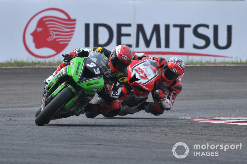 Ahmad Yudhistira, Manual Tech KYT Kawasaki Racing dan Andi Gilang, Astra Honda Racing Team