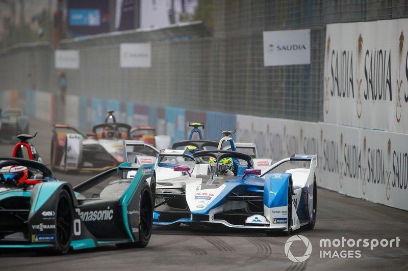 Mitch Evans, Panasonic Jaguar Racing, Jaguar I-Type 3 Alexander Sims, BMW I Andretti Motorsports, BMW iFE.18