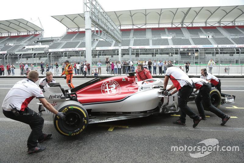 Тесты Татьяны Кальдерон после Гран При Мексики