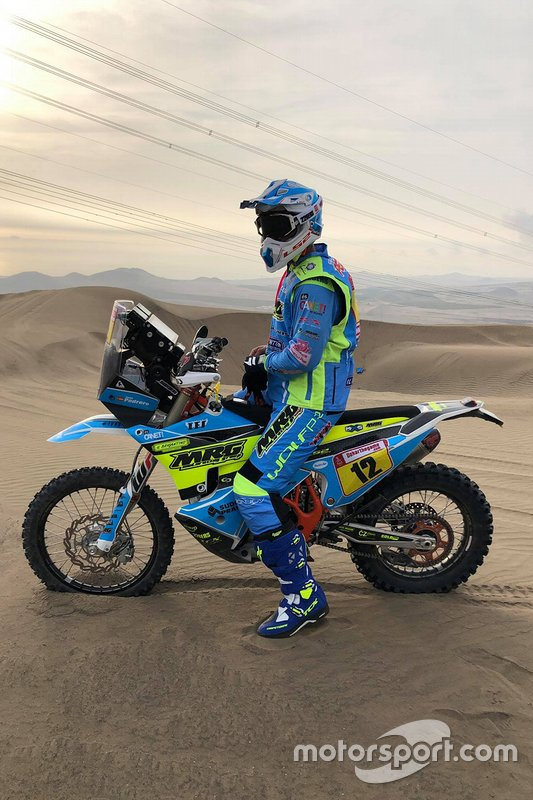 #12 Moto Racing Group: Juan Pedrero Garcia