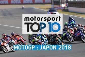 Top 10 du GP du Japon