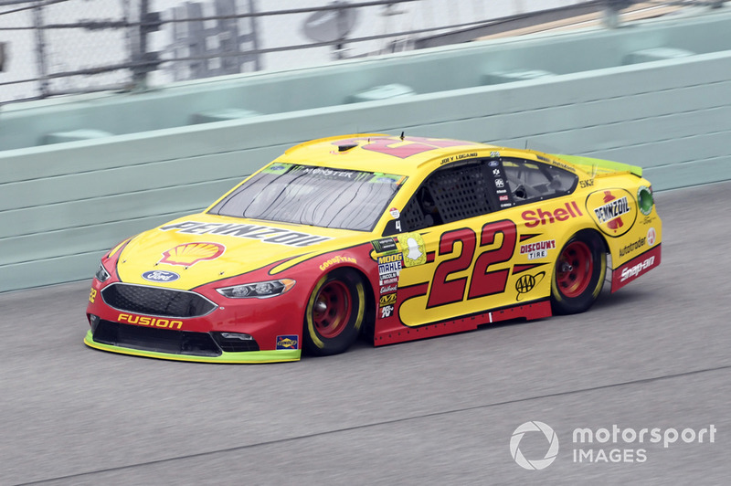 5. Joey Logano, Team Penske, Ford Fusion Shell Pennzoil - Championship 4 driver