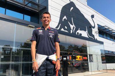 Albon Red Bull Racing announcement