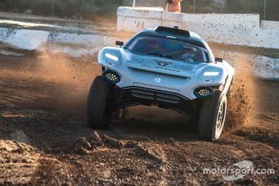 Extreme E Aragon testing