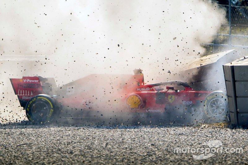 Аварія Себастьяна Феттеля, Ferrari
