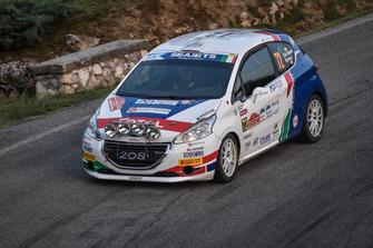 Damiano De Tommaso, Michele Ferrara, Peugeot 208 R2