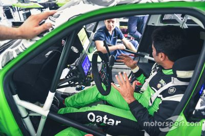 Al-Attiyah ES Motorsport testing