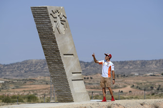 Inaugurazione della curva Márquez