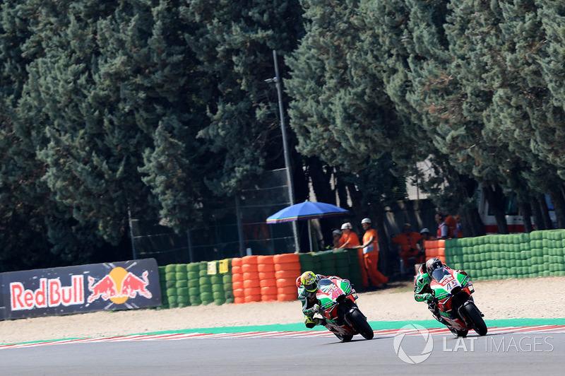 Скотт Реддінг, Алейш Еспаргаро, Aprilia Racing Team Gresini