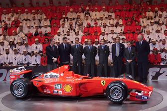 Maranello 2001, presentazione Ferrari