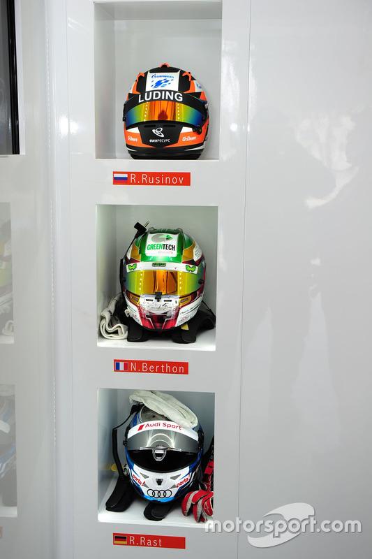 Helm von #26 G-Drive Racing, Oreca 05 - Nissan: Roman Rusinov, Nathanael Berthon, René Rast