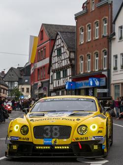 #38 Bentley Team Abt, Bentley Continental GT3: Christian Menzel, Guy Smith, Marco Holzer, Fabian Hamprecht