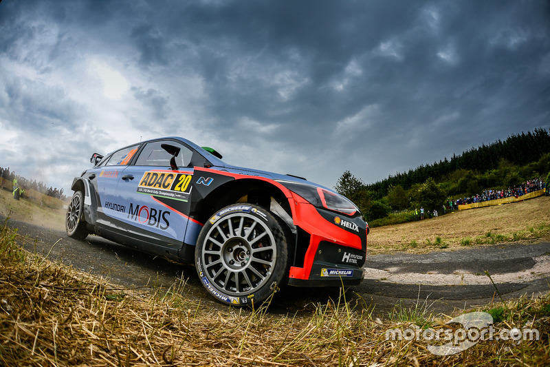 Hayden Paddon, John Kennard, Hyundai i20 WRC, Hyundai Motorsport2016 FIA World Rally Championship /