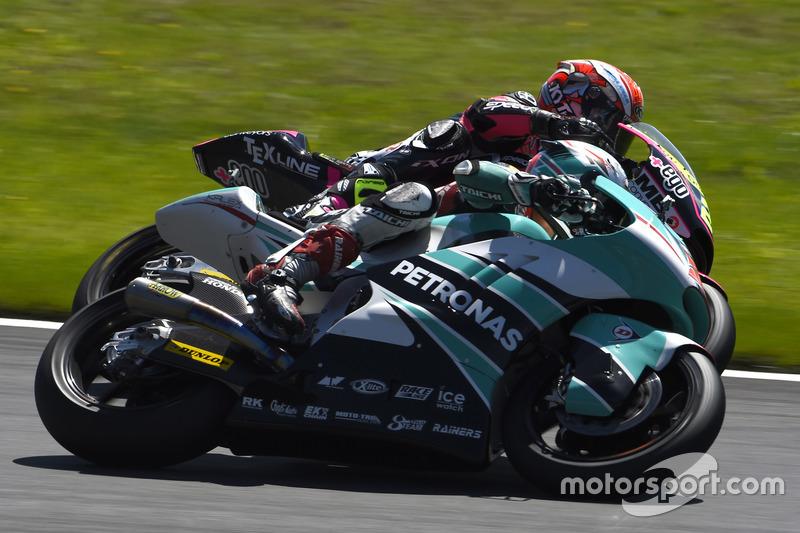 Hafizh Syahrin, Petronas Raceline Malaysia, Kalex; Simone Corsi, Speed Up Racing, Speed Up