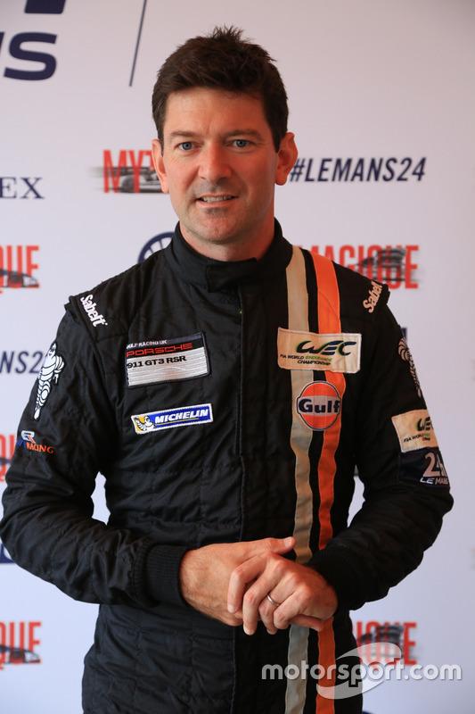 #86Gulf Racing Porsche 911 RSR: Майкл Вейнрайт