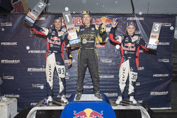 Podium: winner Tanner Foust, Andretti Autosport Volkswagen, second place Sebastian Eriksson, Honda,