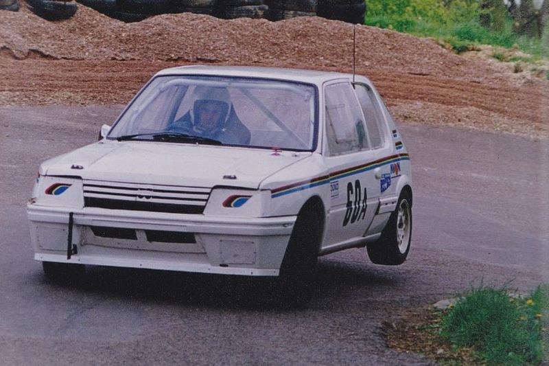Willem Toet, Peugeot 205 hillclimb