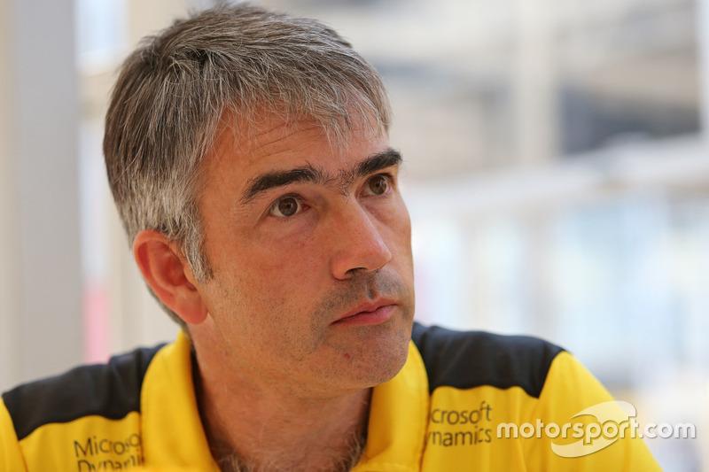 Nick Chester, Technischer Direktor, Renault Sport F1 Team