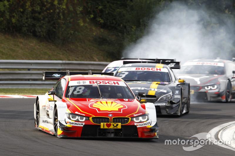 Rennen 1: BMW und Mercedes beharken sich gegenseitig, während ...