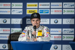 press conference, Lucas Auer, Mercedes-AMG Team Mücke, Mercedes-AMG C63 DTM