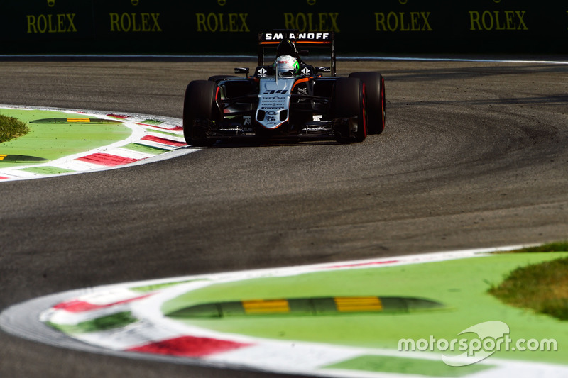 Alfonso Celis Jr. pilota sviluppatore Sahara Force India F1 VJM09