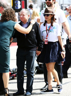 Jean Todt, FIA President with wife Michelle Yeoh