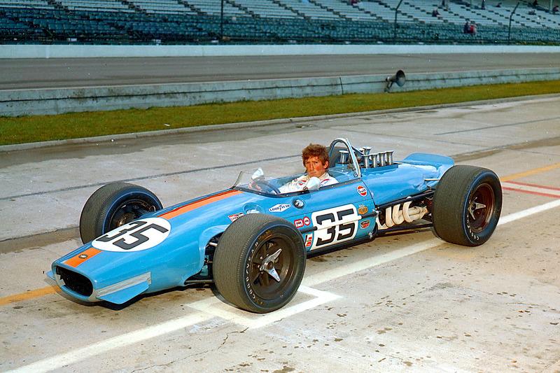 No ano seguinte, com chassi Brabham e motor Repco, Rindt largou em 16º, mas cruzou a linha de chegada em 32º.