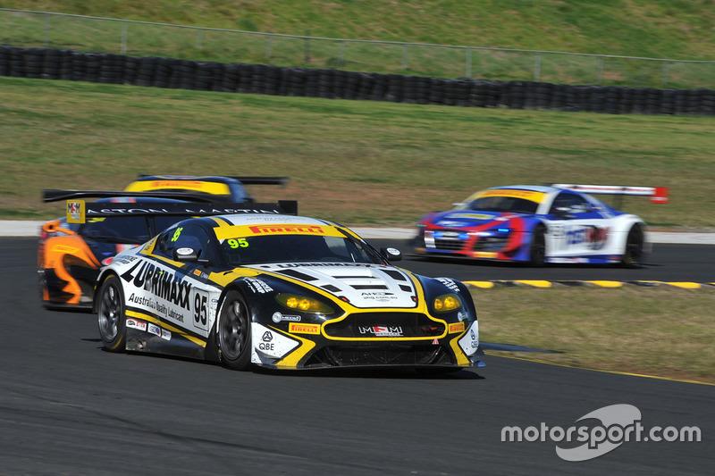 #95 Miedecke Motor Group, Aston Martin Vantage GT3: George Miedecke, Andrew Miedecke