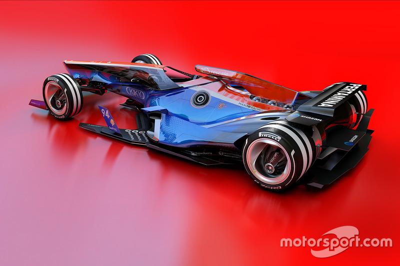Концепт Manor Racing 2030