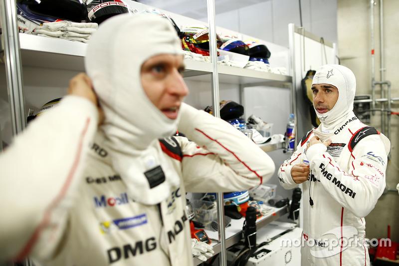 Timo Bernhard, Neel Jani, Porsche Team