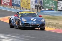 #7 Rebel Rock Racing Porsche Cayman: Elliott Skeer, Sam Adams