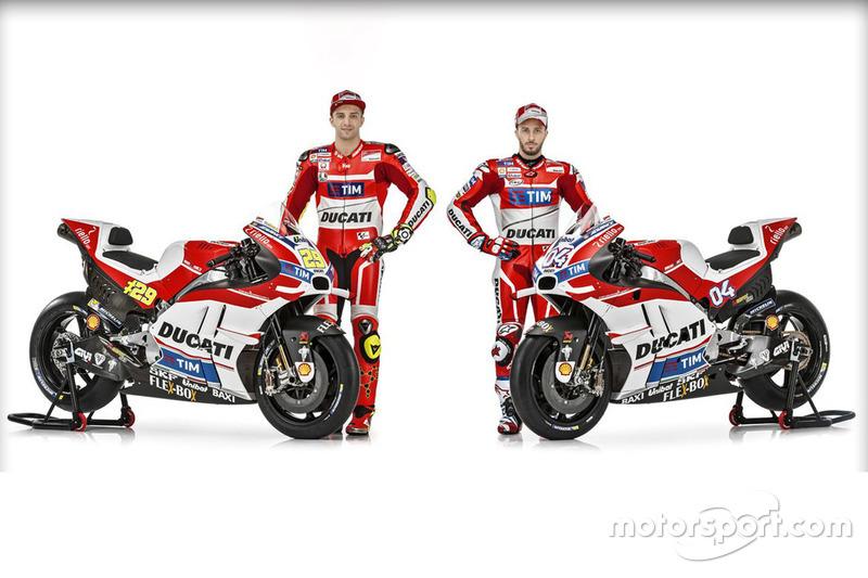 Andrea Dovizioso und Andrea Iannone