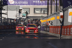 Scott McLaughlin, Team Penske Ford, Fabian Coulthard, Team Penske Ford