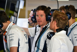 Rob Smedley, Williams Performans Şefi, Nico Rosberg, Mercedes-Benz Temsilcisi, Sergey Sirotkin, Will