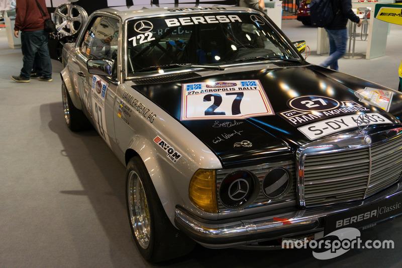 Mercedes Rallyefahrzeug