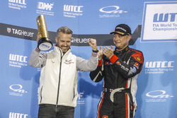 Podium: Tiago Monteiro, Honda Racing Team JAS, Honda Civic WTCC et Rob Huff, All-Inkl Motorsport, Citroën C-Elysée WTCC