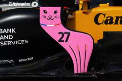 Renault Sport F1 Team RS17: Luftleitblech