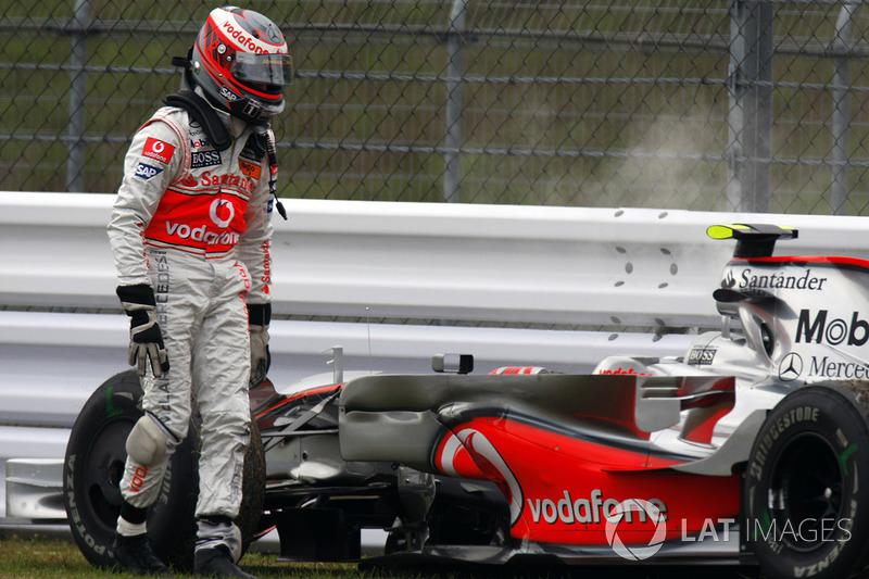Хейкки Ковалайнен, McLaren (53 очка, одна победа + два подиума)