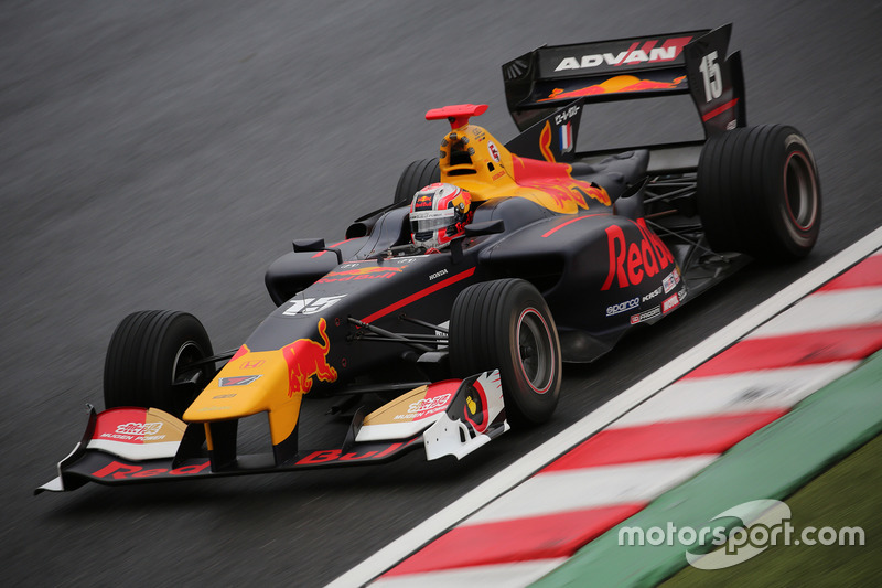 Pierre Gasly in de Super Formula.