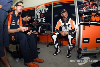 KTM Valencia testing