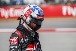 Romain Grosjean, Haas F1 Team, nach Dreher