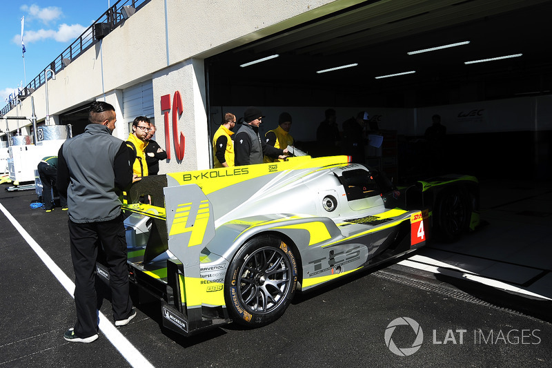 #4 ByKolles Racing Team Enso CLM P1/01 at Paul Ricard on ...